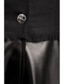 Зимнее пальто из коттона и кожи Xstyle (115063) - 3, 8