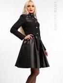 Зимнее пальто из коттона и кожи Xstyle (115063) - цена, 4