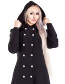 Длинное пальто с капюшоном X-Style (115011) - цена, 4