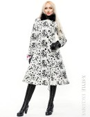 Зимнее пальто с мехом на воротнике X-Style (115030) - foto