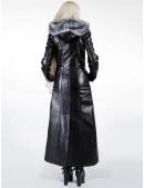Зимнее кожаное пальто с мехом X-Style (115022) - цена, 4