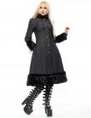 Расклешенное пальто с мехом X-Style (115033) - оригинальная одежда, 2