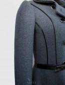 Винтажное пальто из натуральной шерсти (115055) - оригинальная одежда, 2