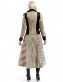 Винтажное пальто в полоску X4030 (114030) - оригинальная одежда, 2