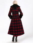 Асимметричное пальто с мехом X-Style (115053) - 3, 8