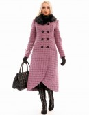 Винтажное пальто с меховым воротником X-Style (115044) - foto