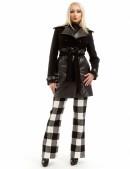 Зимнее женское пальто из кашемира и кожи X-Style (115043) - оригинальная одежда, 2