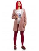 Демисезонное твидовое пальто X035 (114035) - 3, 8