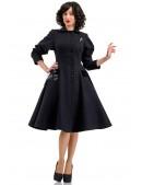 Винтажное пальто из натуральной шерсти X-Style (114043) - 3, 8