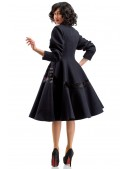 Винтажное пальто из натуральной шерсти X-Style (114043) - оригинальная одежда, 2