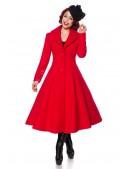 Приталенное длинное шерстяное пальто B4047 (114047) - цена, 4
