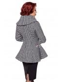 Винтажное пальто с баской (114051) - оригинальная одежда, 2