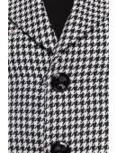Винтажное пальто с баской (114051) - цена, 4