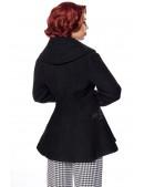 Винтажное полушерстяное пальто B14053 (114053) - оригинальная одежда, 2