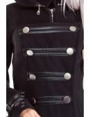 Зимнее пальто в стиле Милитари X-Style (115019) - цена, 4