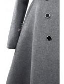 Зимнее шерстяное пальто X5054 (115054) - цена, 4