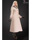 Длинное зимнее пальто женское X5057 (115057) - foto