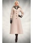 Длинное зимнее пальто X5057 (115057) - foto