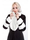 Зимнее пальто с мехом и вышивкой Xstyle (115067) - материал, 6