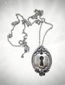 Брошь-кулон Замок с ключом (712012) - цена, 4