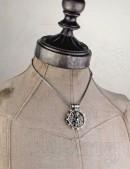 Кулон Foundryman`s Ring Cross (ручная работа) (AGP606) - оригинальная одежда, 2