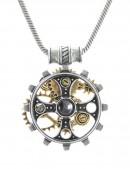 Кулон Foundryman`s Ring Cross (ручная работа) (AGP606) - foto