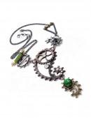 Ожерелье в стиле Хай-тек (AGP642) - оригинальная одежда, 2