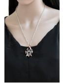 Кулон Fire Pentagramm (ручная работа) (AGP351) - оригинальная одежда, 2