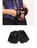 Кожаные митенки XA1164 (601164) - оригинальная одежда, 2