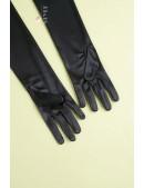 Длинные перчатки в стиле Ретро U1179 (601179) - оригинальная одежда, 2
