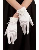 Вечерние белые перчатки XA1151 (601151) - foto