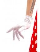 Белые перчатки из атласа A1152 (601152) - foto