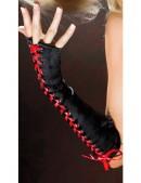 Перчатки с красной шнуровкой CC1157 (601157) - оригинальная одежда, 2