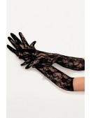 Длинные кружевные перчатки 601080 (601080) - оригинальная одежда, 2