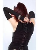 Длинные перчатки без пальцев XA1087 (601087) - оригинальная одежда, 2