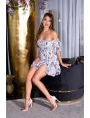 Летнее платье Babydoll с цветочным узором KouCla (105509) - 4, 10