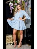 Платье Беби долл с рукавом 3/4 KouCla (105498) - foto