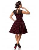 Платье в красный в горошек с сеточкой B5515 (105515) - цена, 4
