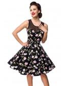 Платье в стиле Ретро с цветочным узором B5516 (105516) - 4, 10