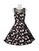 Платье в стиле Ретро с цветочным узором B5516 (105516) - 3, 8