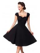 Хлопковое платье Ретро с декольте B519 (105519) - 4, 10