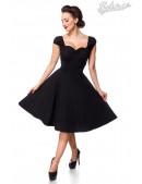 Хлопковое платье Ретро с декольте B519 (105519) - foto