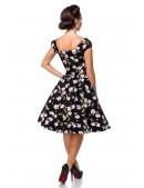 Винтажное платье с цветочным принтом B5520 (105520) - цена, 4