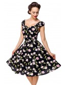 Винтажное платье с цветочным принтом B5520 (105520) - материал, 6
