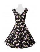 Винтажное платье с цветочным принтом B5520 (105520) - 3, 8