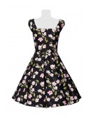 Винтажное платье с цветочным принтом B5520 (105520) - 4, 10