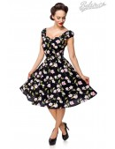 Винтажное платье с цветочным принтом B5520 (105520) - foto