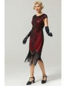 Платье в стиле Гэтсби U5521 (105521) - 3, 8