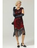 Платье в стиле Гэтсби U5521 (105521) - материал, 6