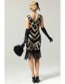 Платье в стиле Гэтсби UF5523 (105523) - материал, 6